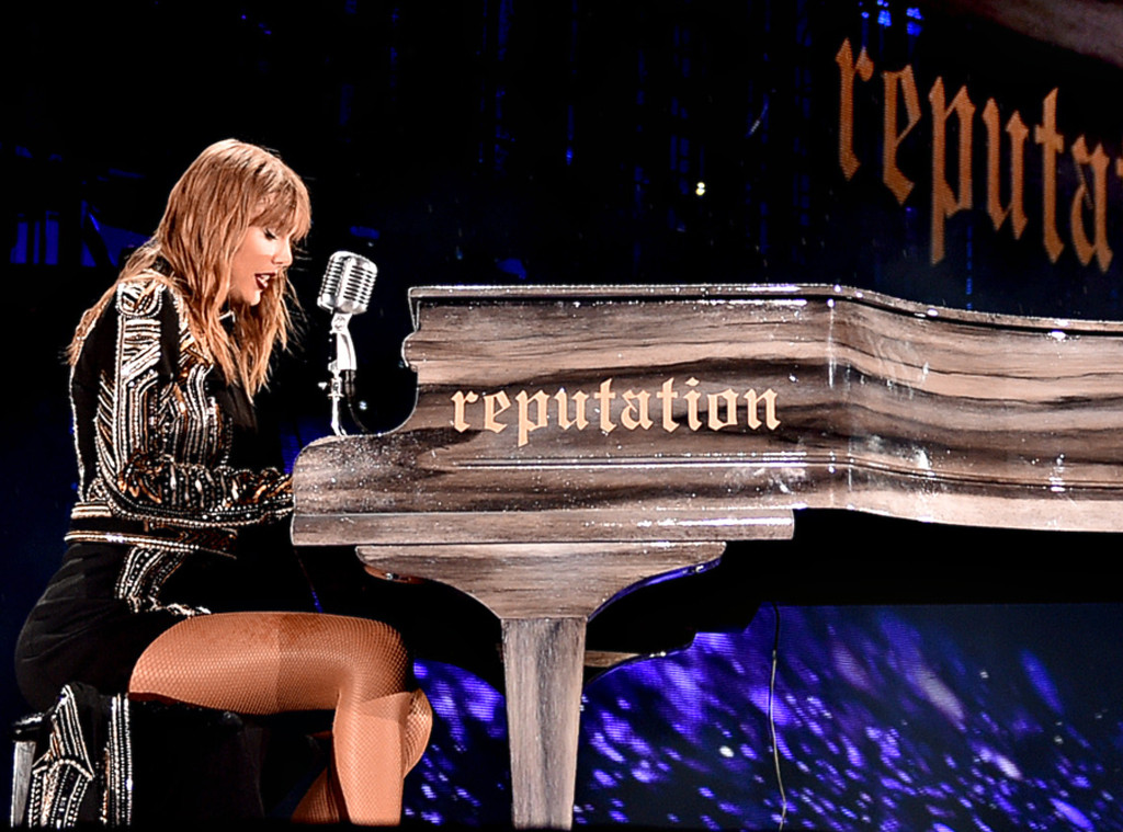 Taylor Swift homenageia Aretha Franklin em show da Reputation Tour ...