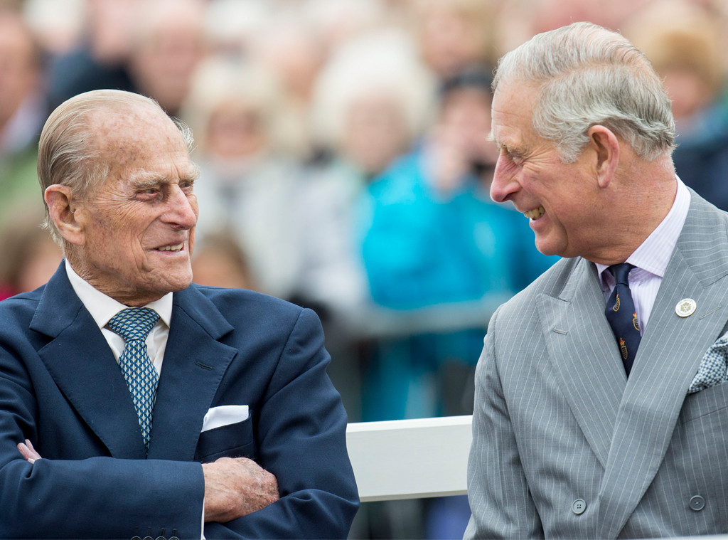 Prince Philip, Prince Charles, 2016