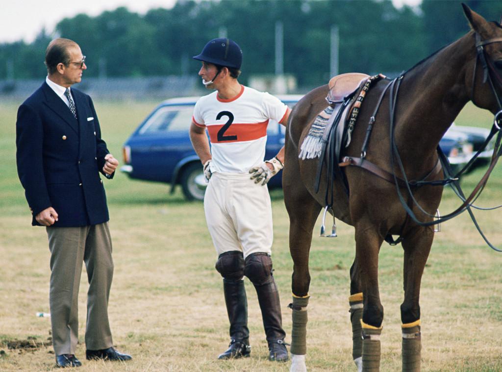 Prince Philip, Prince Charles, 1975