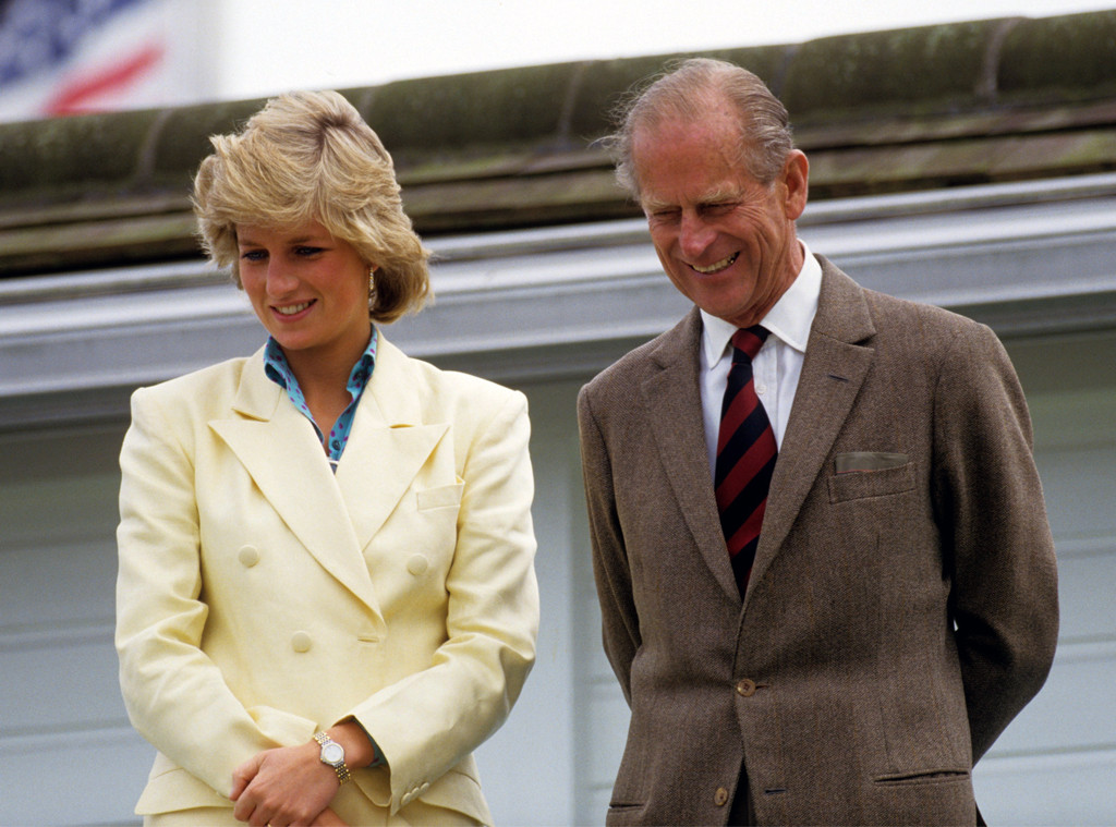 Prince Philip, Princess Diana
