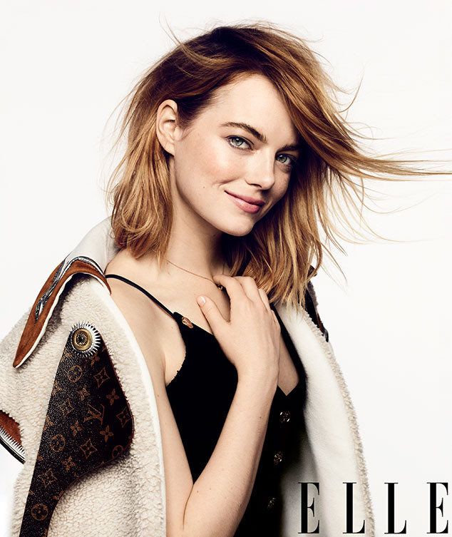Emma Stone, Elle, September 2018