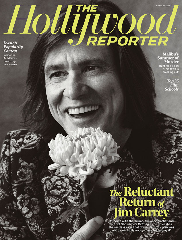 Jim Carrey, The Hollywood Reporter