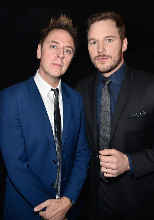 James Gunn, Chris Pratt