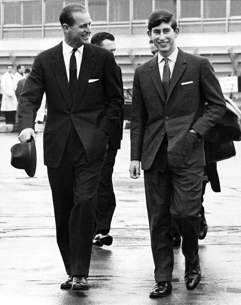 Prince Philip, Prince Charles, 1966