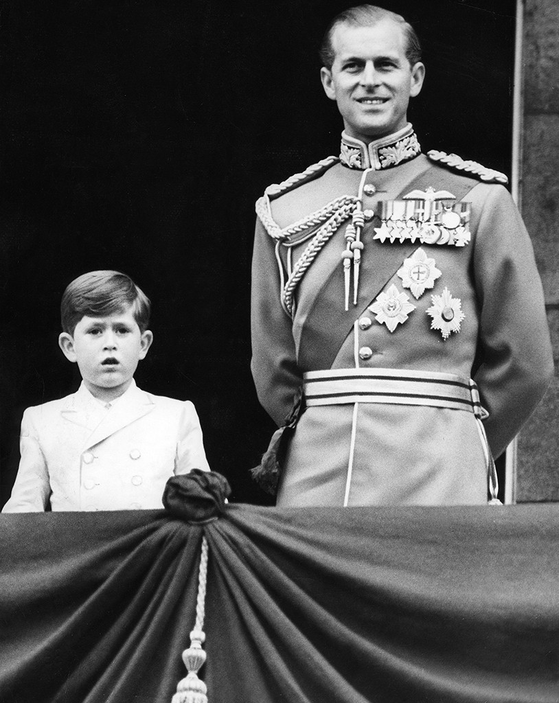 Prince Philip, Prince Charles, 1953