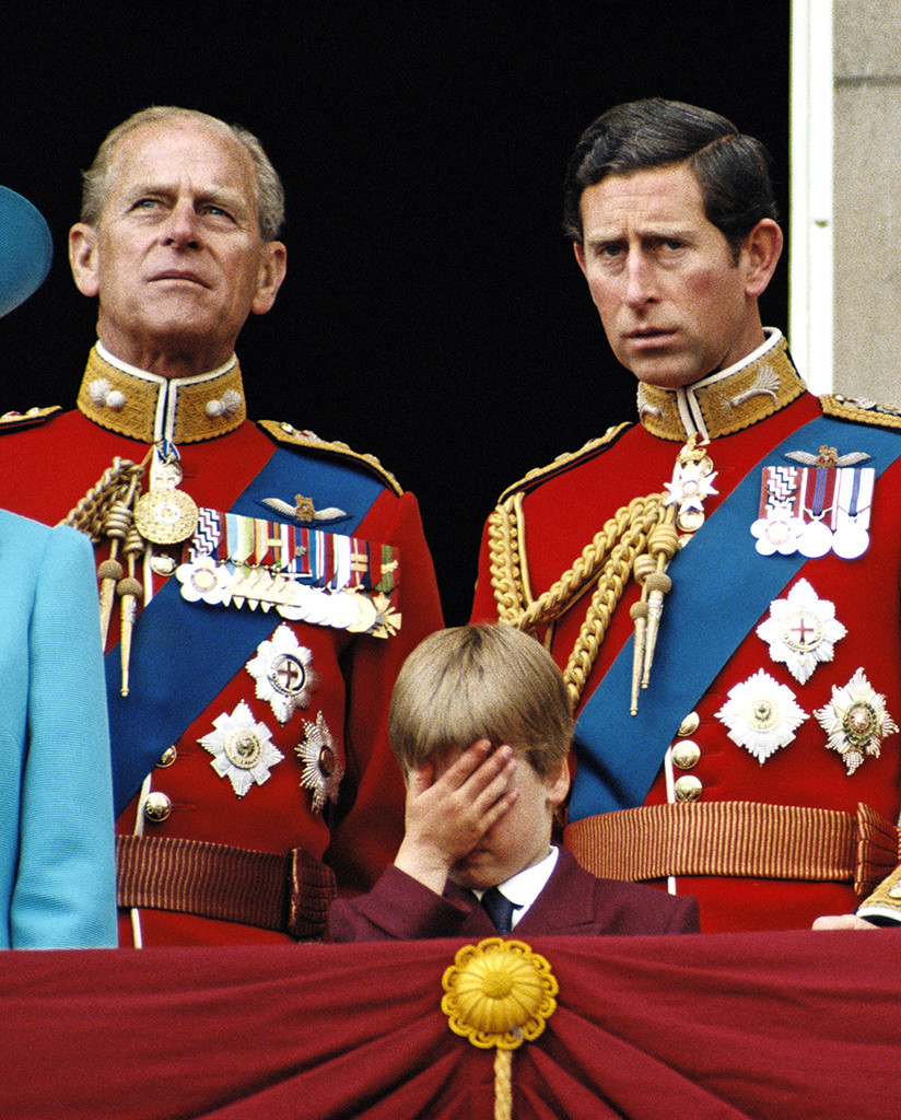 prince philip and charles relationship