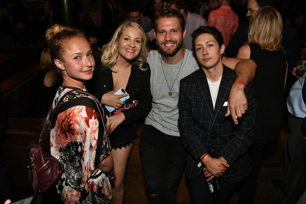 Hayden Panettiere, Hyde Sunset Afterparty, Breaking & Exiting
