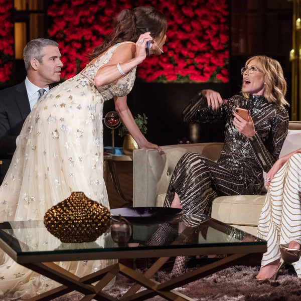 Bethenny Frankel and Carole Radziwill's Fight Is Out of Control on The Real Housewives of New York Reunion