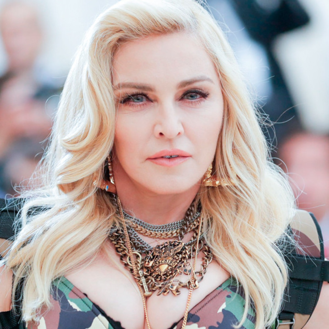 Madonna Leaves Little to the Imagination in Racy Lingerie Pics After Photoshop Accusation – E! NEWS