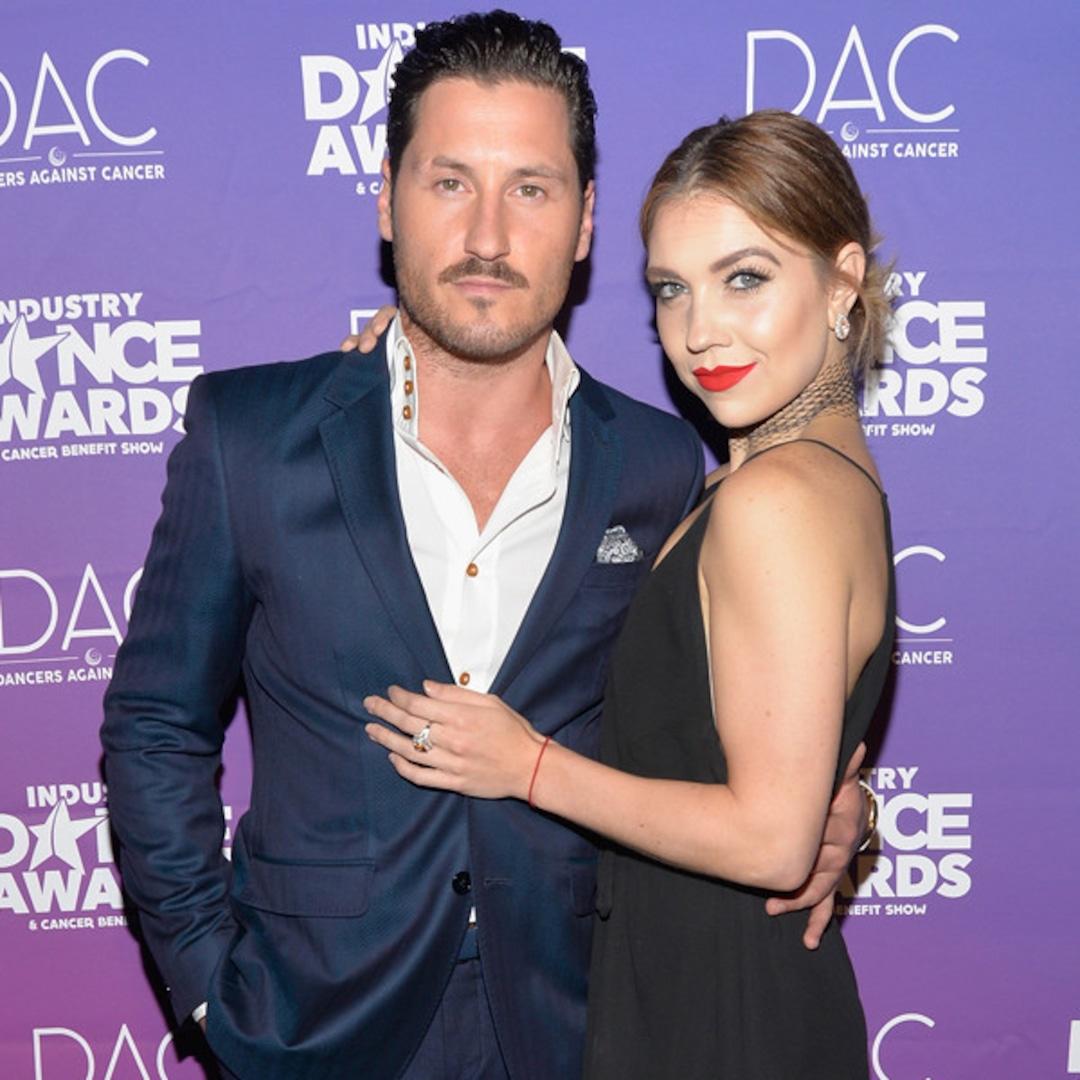 With max married dancing stars Maks Chmerkovskiy