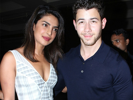 Priyanka Chopra and Nick Jonas Enjoy a Dinner Date in India After Engagement
