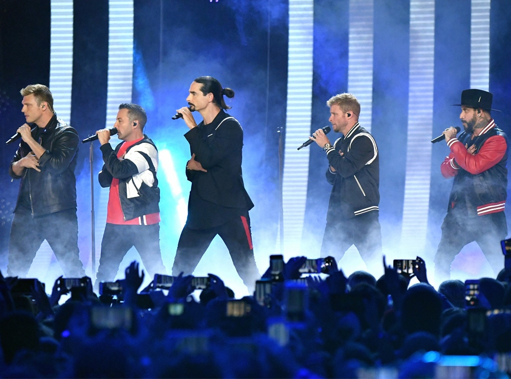 Backstreet Boys concert postponed after wind knocks down venue entrance, injuring 14