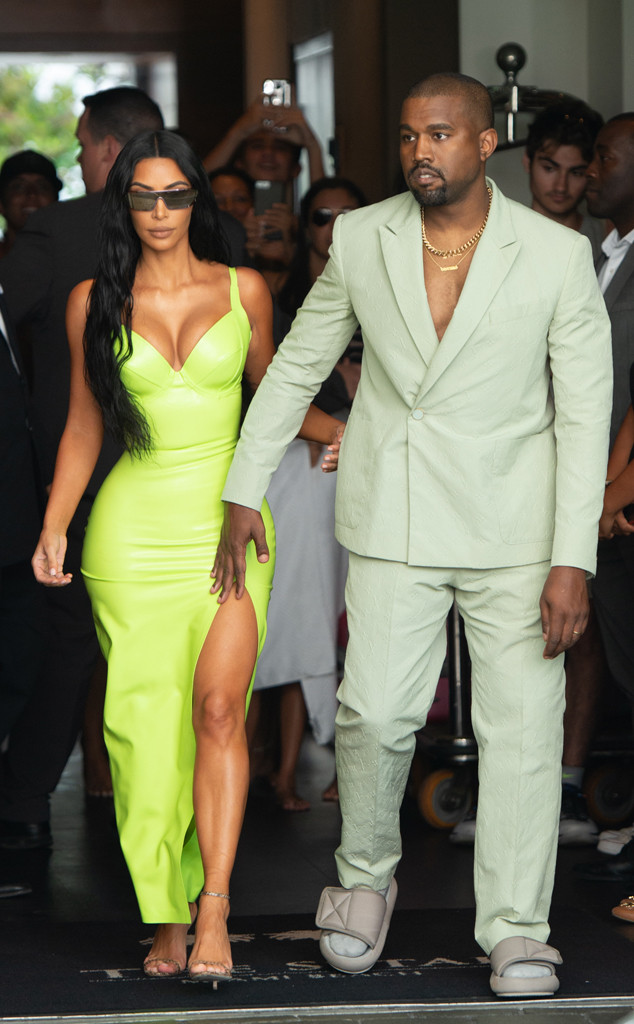 kim kardashian and kayne west slay at 2 chainz and kesha