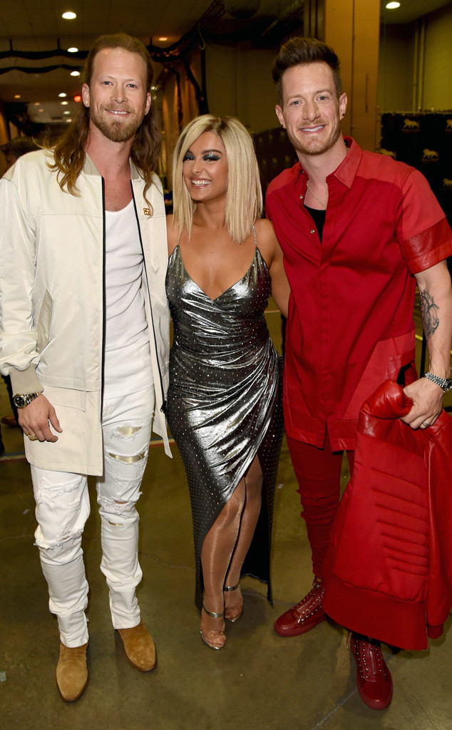 Bebe Rexha, Brian Kelley, Tyler Hubbard, Florida Georgia Line, 2018 ACM Awards