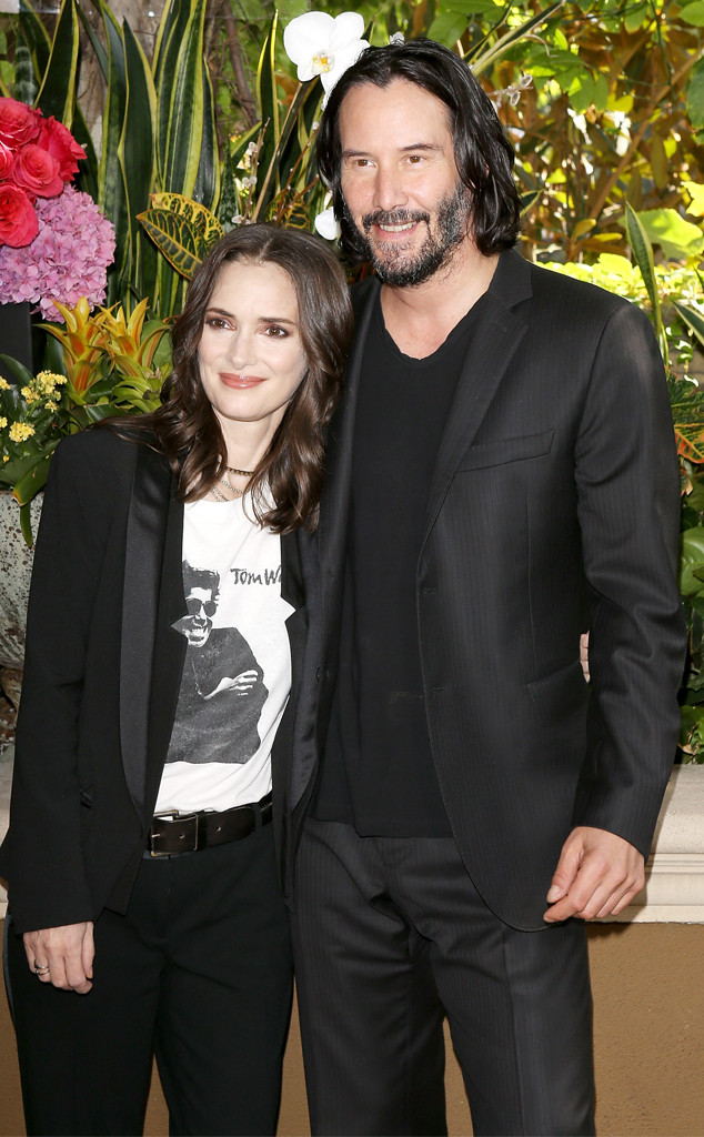It Turns Out Winona Ryder and Keanu Reeves Might Actually ...