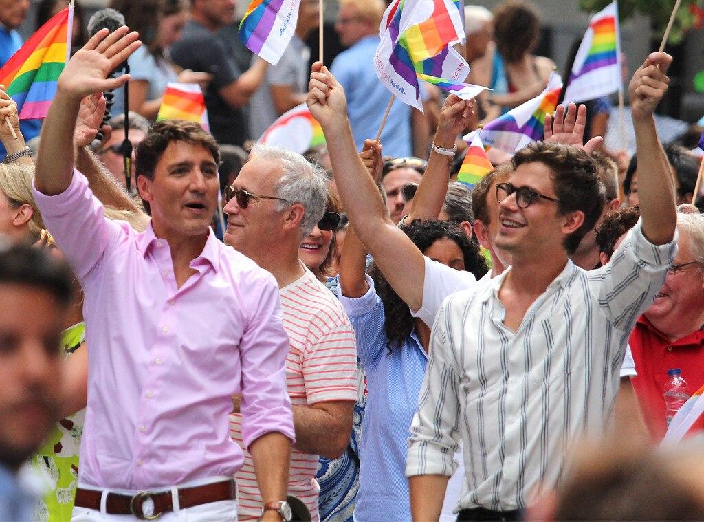 Justin Trudeau, Antoni Porowski, Montreal Pride Parade