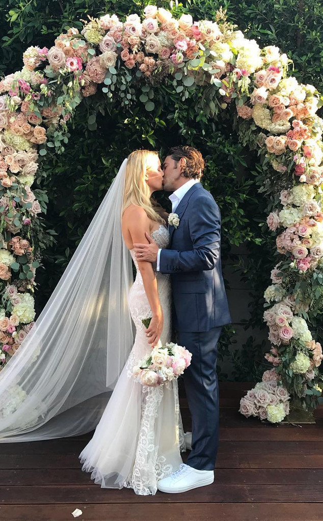 the originals claire holt marries andrew joblon e news