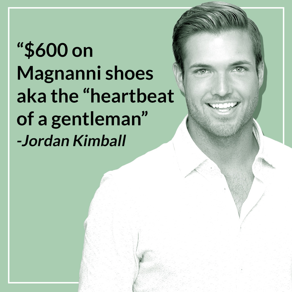 Jordan Kimball, Bachelor Nation, Most Expensive Purchases