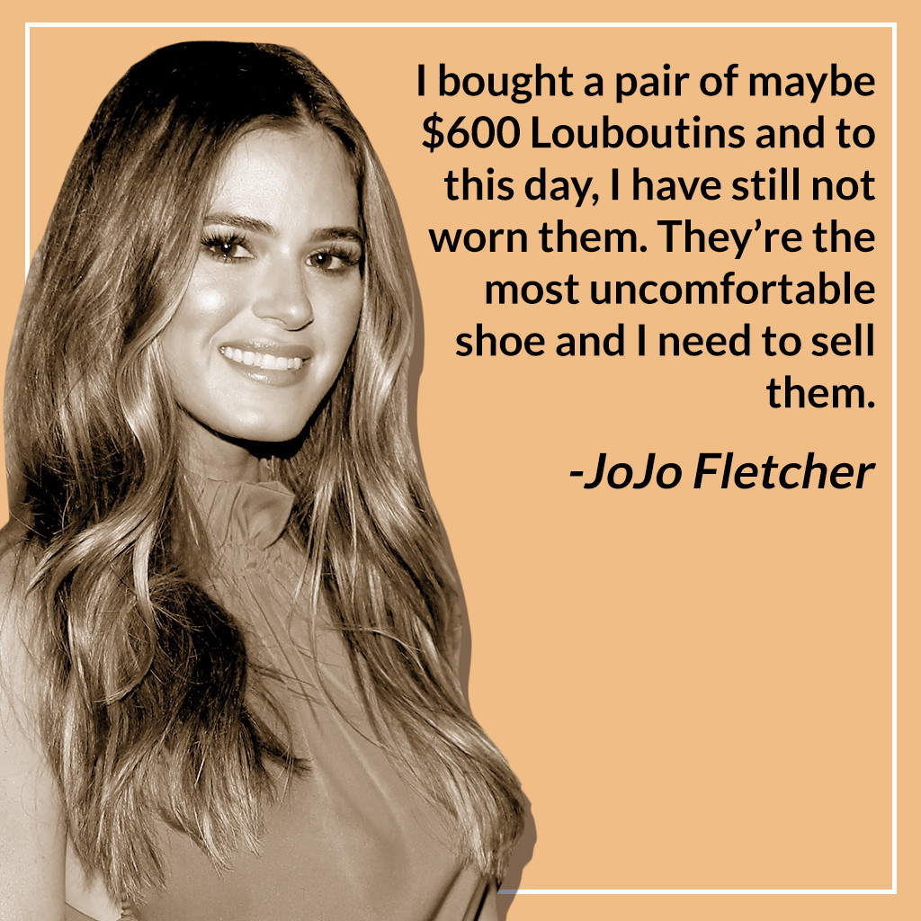 JoJo Fletcher, Bachelor Nation, Most Expensive Purchases