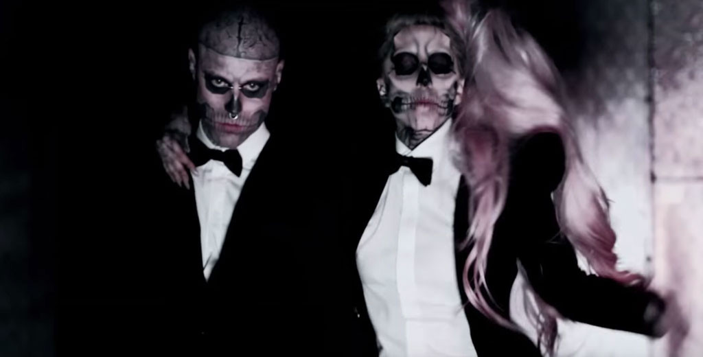 Rick Genest, Lady Gaga, Born This Way, Music Video