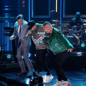Nicky Jam, J Balvin, Jimmy Fallon