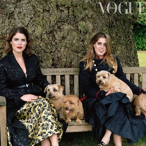 Princess Eugenie, Princess Beatrice, British Vogue