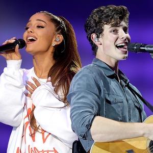 Ariana Grande, Shawn Mendes, 2018 VMAs performers