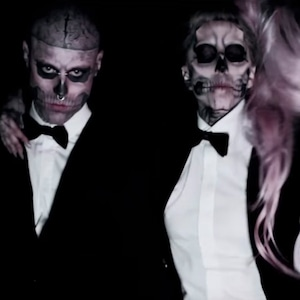 Rick Genest, Lady Gaga, Born This Way, Music Video