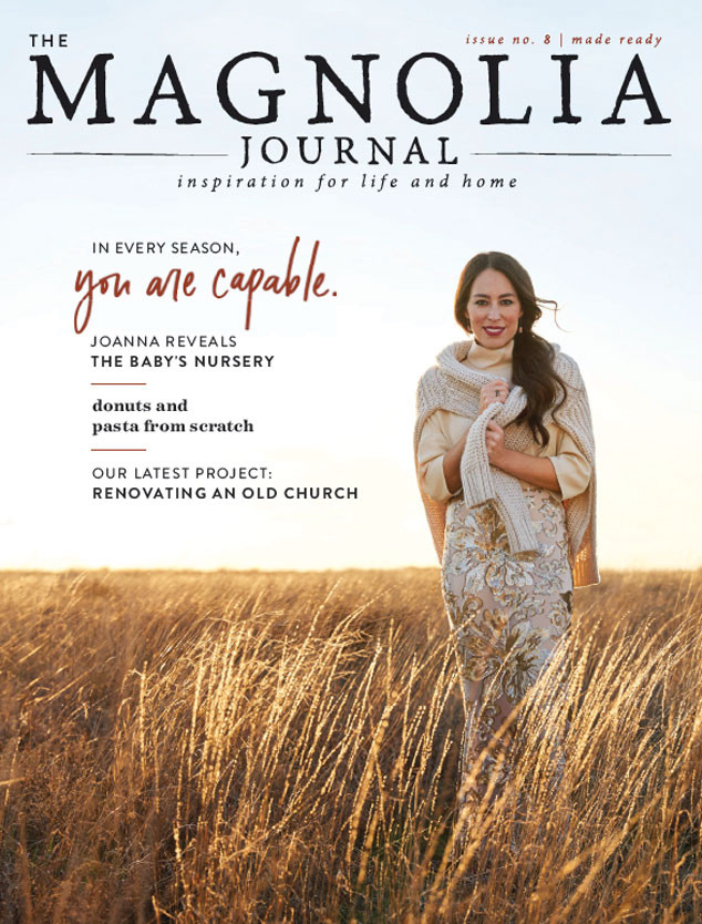 joanna gaines reflects on surprise pregnancy at 40 this time was different e news. Black Bedroom Furniture Sets. Home Design Ideas