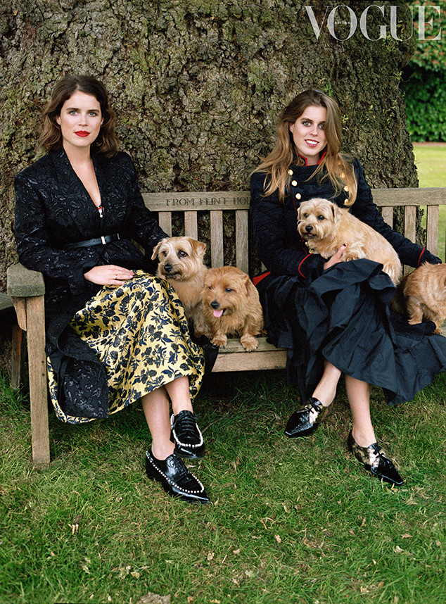 Princess Eugenie, Princess Beatrice, British Vogue