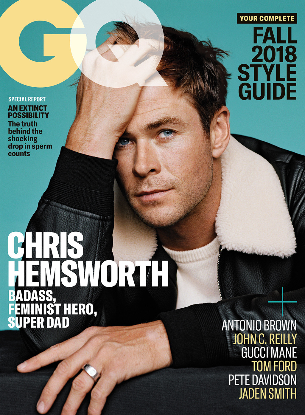 Chris Hemsworth, GQ
