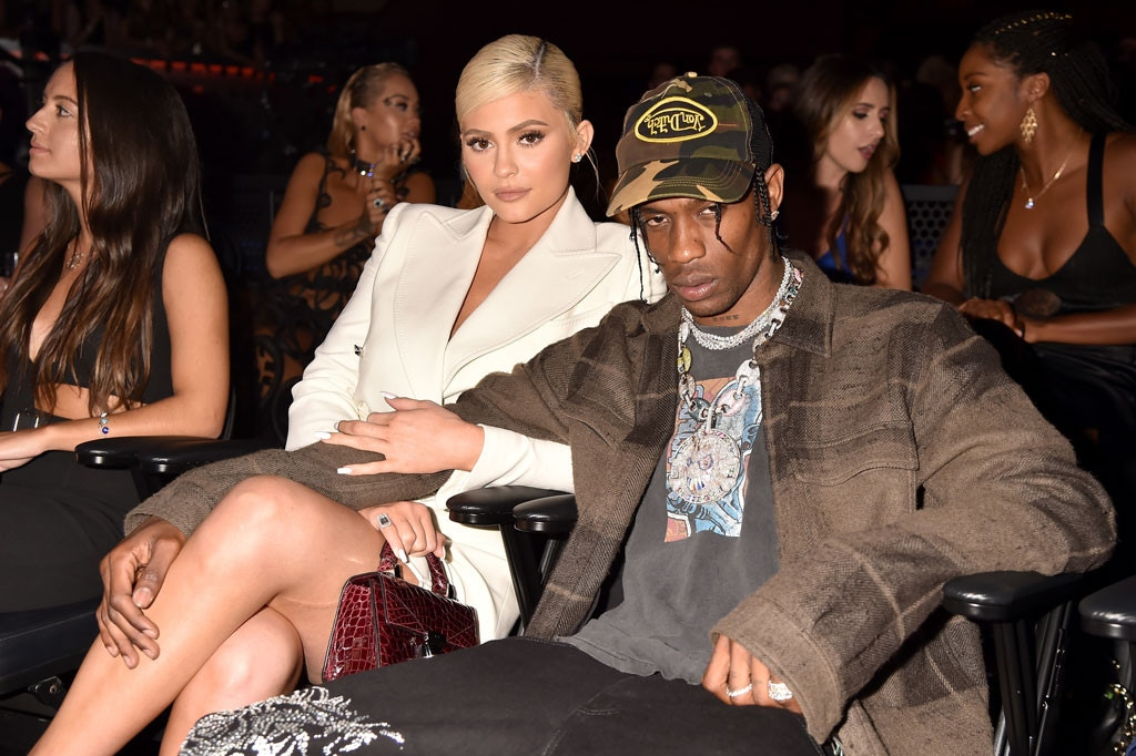 Kylie Jenner, Travis Scott, 2018 MTV Music Video Awards, VMAs