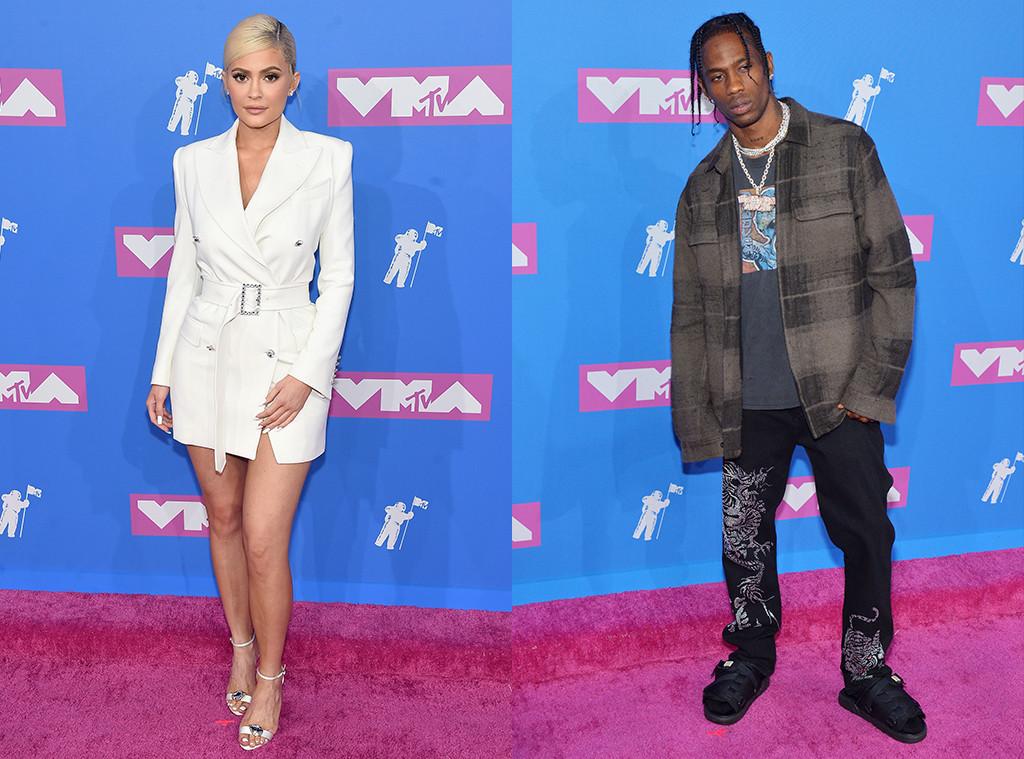 Kylie Jenner, Travis Scott, 2018 MTV Video Track Awards, VMAs