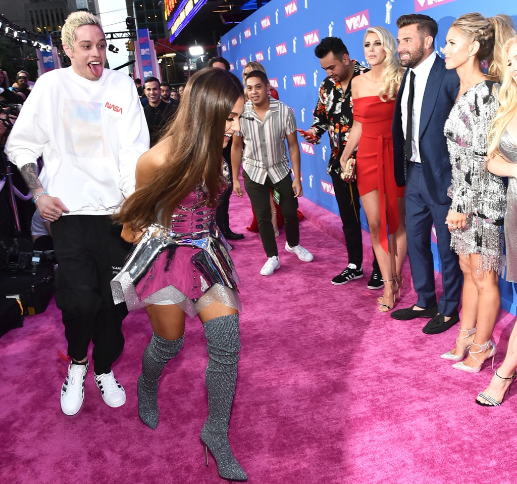 Pete Davidson Ariana Grande The Hills Reunion MTV Video Music Awards VMAs