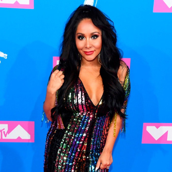 665fd908c7e1e See Every Fabulous Yet Relatable Photo From Snooki's 3rd Pregnancy Journey    E! News