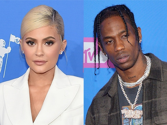 Kylie Jenner and Travis Scott Arrive Separately at MTV Video Music Awards