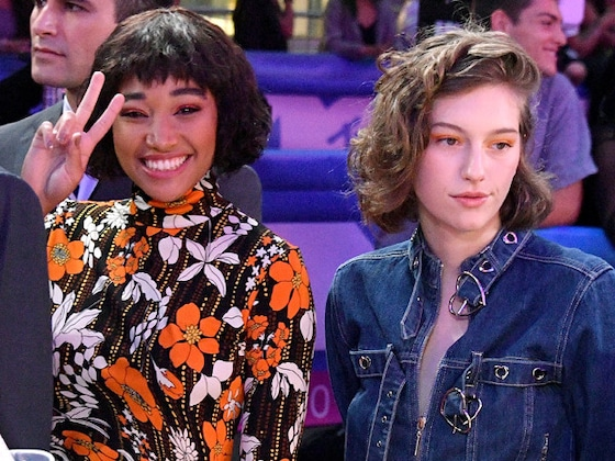 Amandla Stenberg and Girlfriend King Princess Step Out at 2018 MTV Video Music Awards