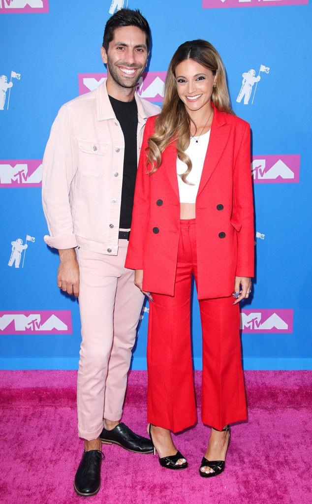 Nev Schulman, Laura Perlongo, MTV Video Music Awards, VMA's