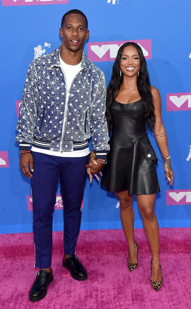 Victor Cruz, Karrueche Tran, 2018 MTV Video Music Awards, VMAs, Couples