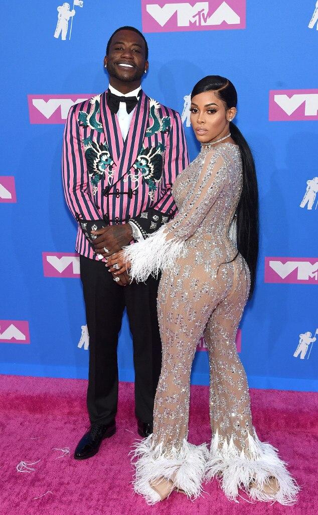 5dd1f3df61ac2f Gucci Mane   Keyshia Ka Oir from MTV Video Music Awards 2018  Red ...