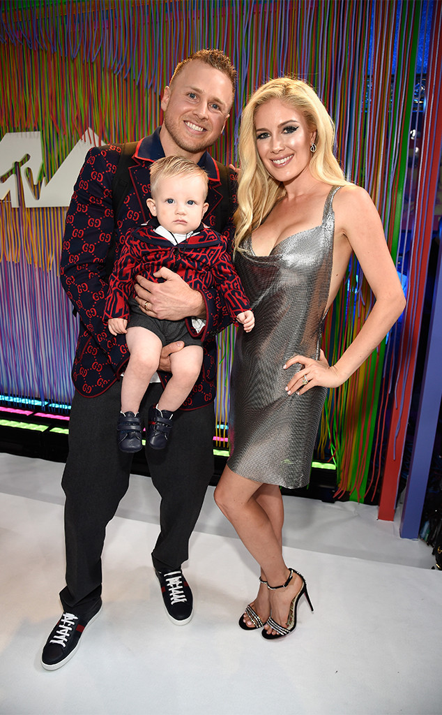 Spencer Pratt, Gunner Pratt, Heidi Pratt, MTV Video Music Awards, VMA's