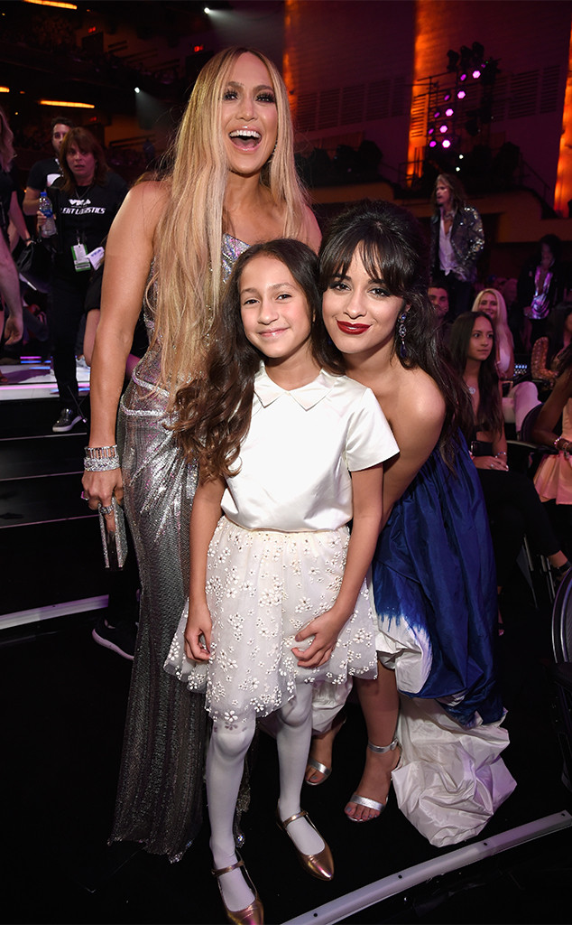 Jennifer Lopez, Emme, Camila Cabello, 2018 MTV Video Music Awards, VMAs
