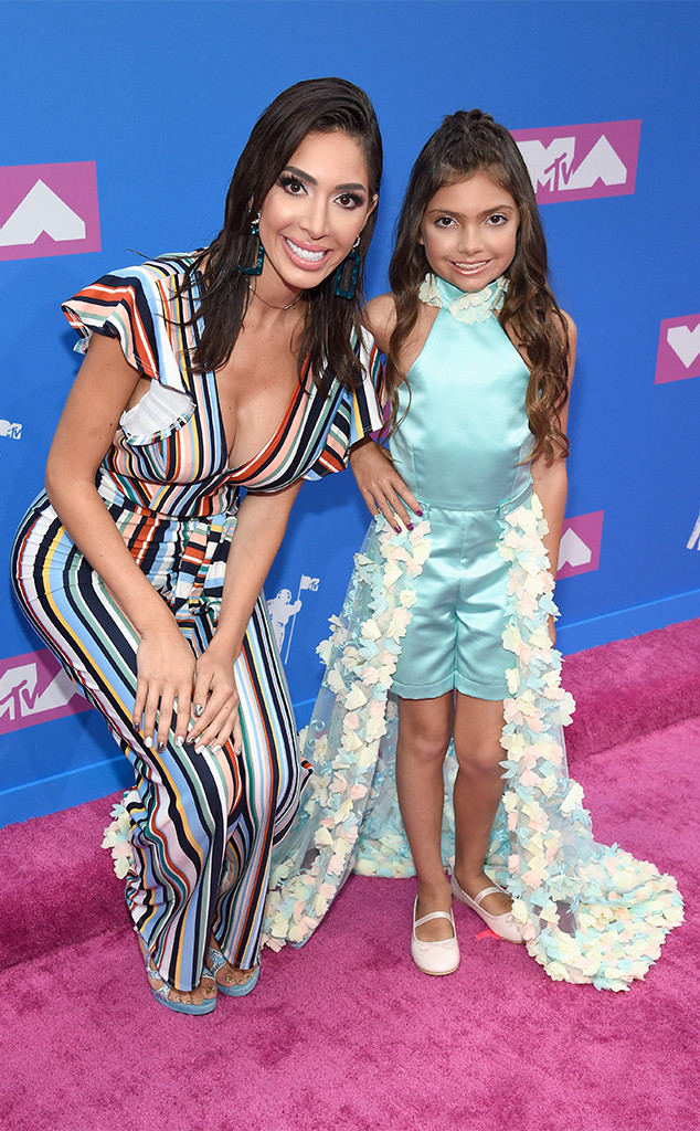 Farrah Abraham, Sophie Abraham, 2018 MTV Video Music Awards, VMAs