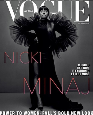 Nicki Minaj, Vogue Arabia
