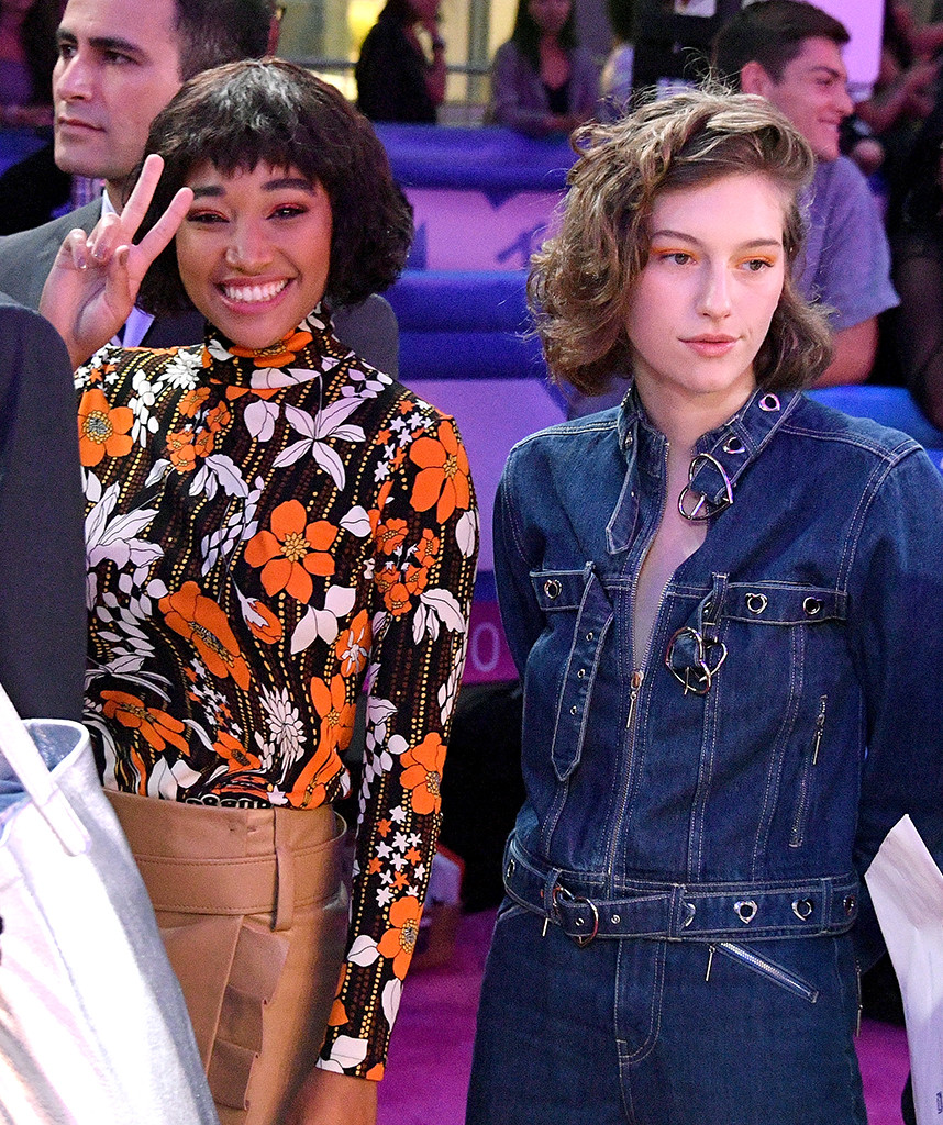 Amandla Stenberg, King Princess, 2018 MTV Music Video Awards, VMAs