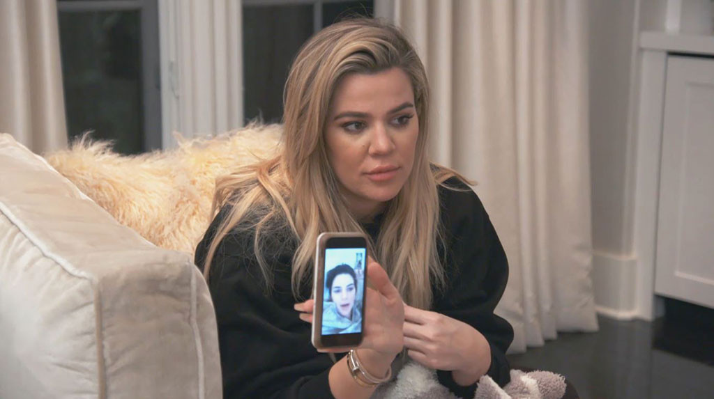 Kim Kardashian, Khloe Kardashian, KUWTK_1504