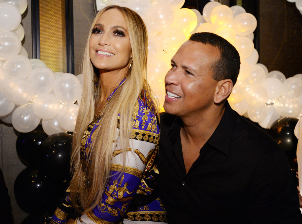 Jennifer Lopez, Alex Rodriguez, Beauty & Essex After Party, VMA After Parties 2018