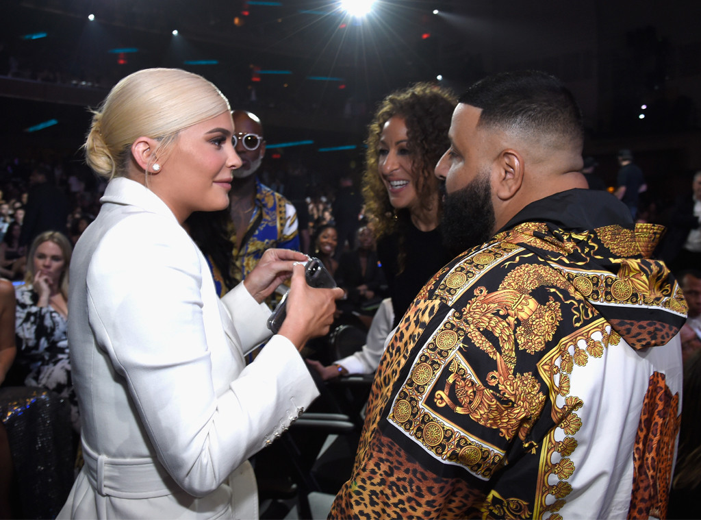 Kylie Jenner, Nicole Tuck, DJ Khalid