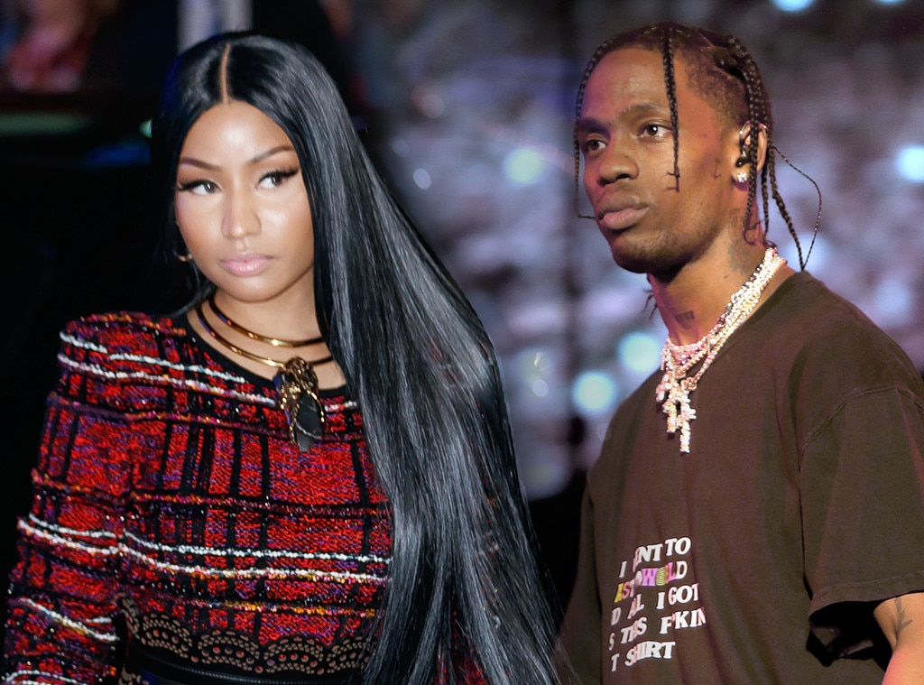 Nicki Minaj vs. Travis Scott -  Of course, Cardi wasn't the only rapper that Nicki was feuding with in 2018. She also found time to beef with  Kylie Jenner 's man Travis Scott when, in August, his album  ASTROWORLD  beat  Queen  for the No. 1 spot on the U.S. album charts and she took issue with how, exactly, he accomplished it.