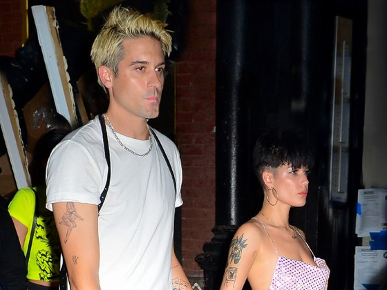 """Halsey and G-Eazy Are """"Working on Their Relationship"""" Amid Flirty VMAs Reunion"""